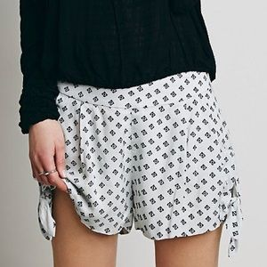 NWT Free People Side Tie Short